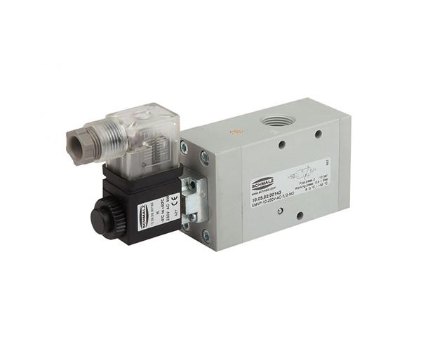 solenoid double check valve