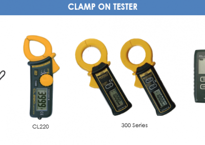 CLAMP ON TESTER