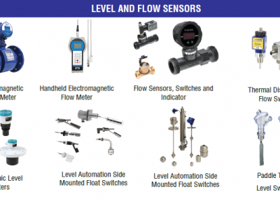 LEVEL AND FLOW SENSORS